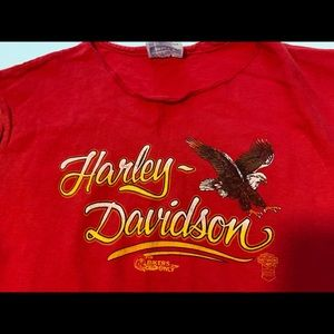 Harley-Davidson Tops - Vintage Harley Davidson muscle tee